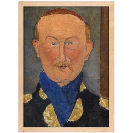 Italian painting of Leon Bakst