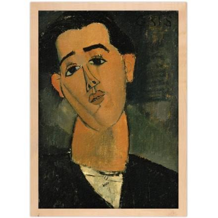 Portrait of Spanish Juan Gris