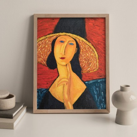 Portrait of a woman in a hat