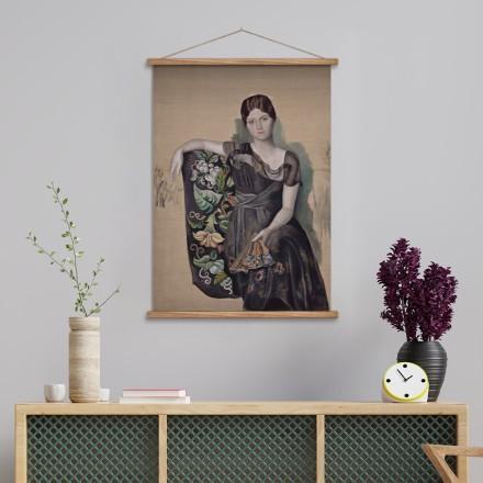 Portrait of Olga in an Armchair