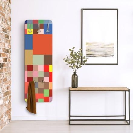 Abstract mosaic pattern