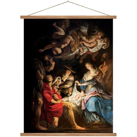 Saint of Nativity scene