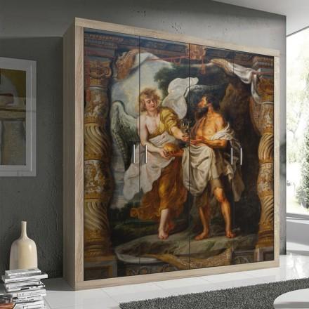 The Prophet Elijah And An Angel In The Desert