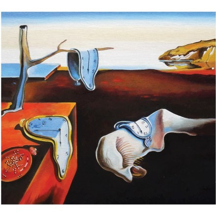 The Persistence of Memory oil painting