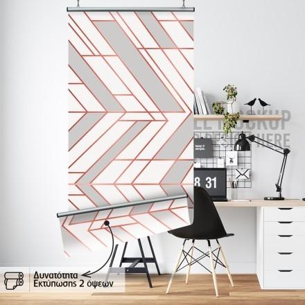 Abstract γεωμετρικά σχήματα