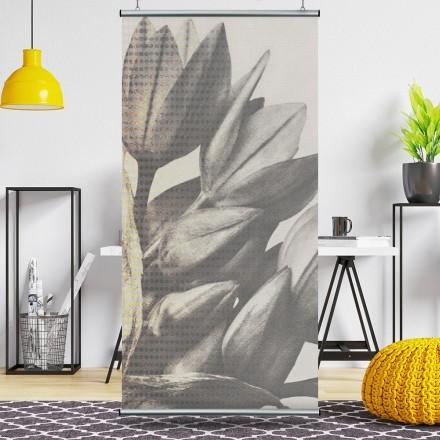 Ασπρόμαυρο λουλούδι