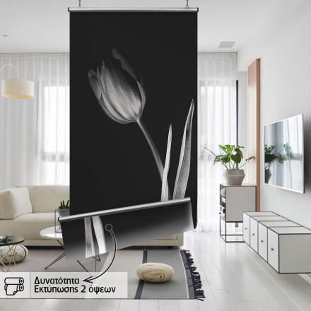 Λουλούδι στα μαύρα