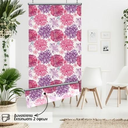 Μωβ & ροζ άνθη