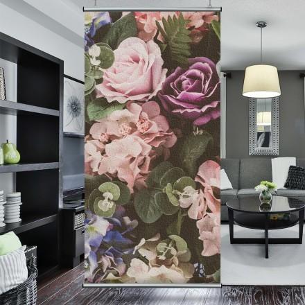 Μωβ και ροζ άνθη