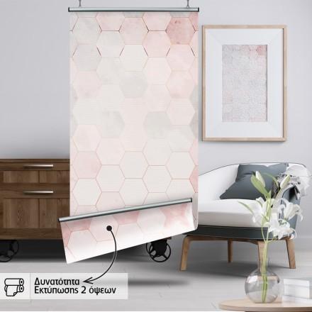 Ροζ  εξάγωνα