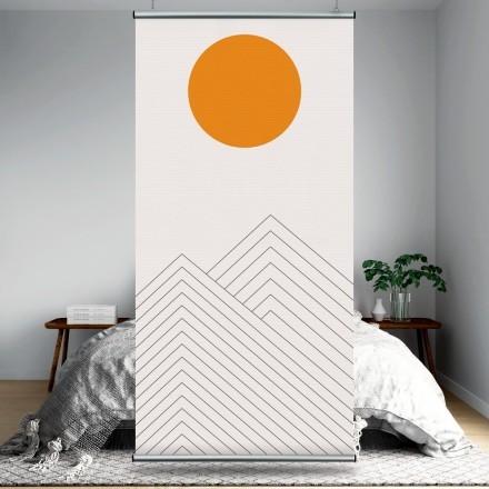 Ηλιοβασίλεμα στο βουνό