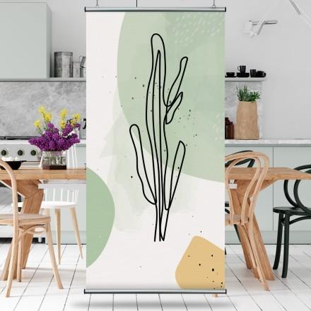 Plant's line art