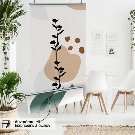 Graphique with plants