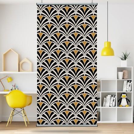 Μοτίβο με μαύρα & κίτρινα σχέδια