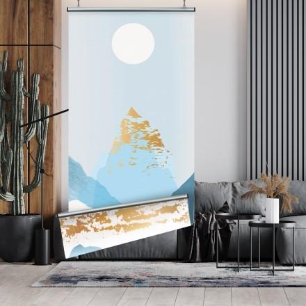 Μπλε & χρυσό βουνό