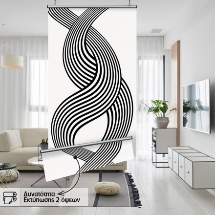 Wavy lines formation
