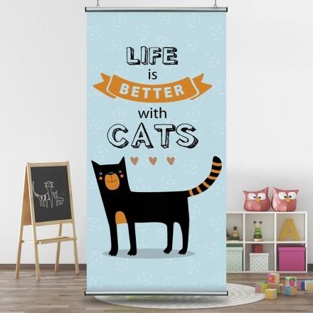 Μαύρο γατάκι