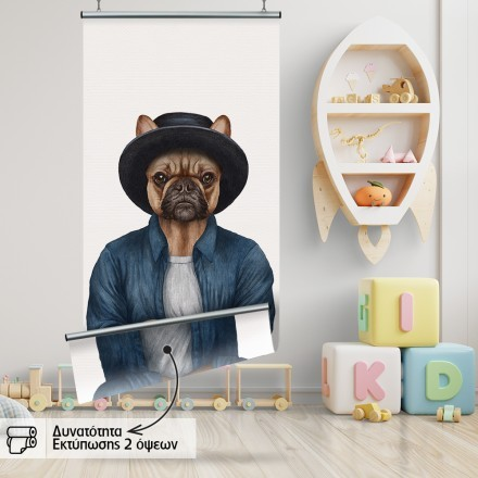 Σκύλος με καπέλο