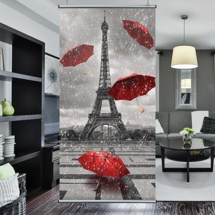 Κόκκινες ομπρέλες στο Παρίσι