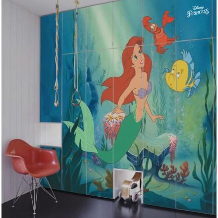 Η Ariel μέσα στη θάλασσα, Princess