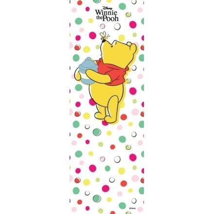 Polka dots, Winnie with honey
