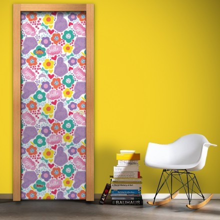 Pattern with flowers, Sofia the First