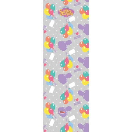Pattern with ballons, Sofia the First