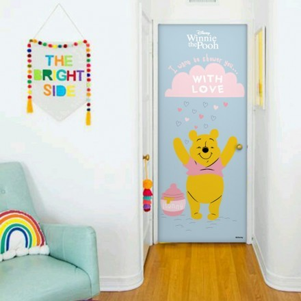 I want to shower you...with love, Winnie the Pooh