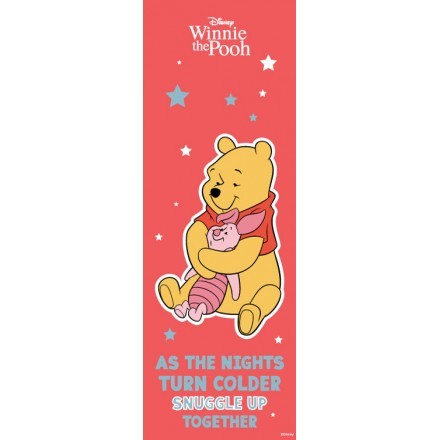 As the nights turn colored snuggle up together, Winnie the Pooh