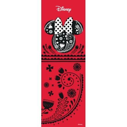 Minnie Mouse, κόκκινο και μαύρο