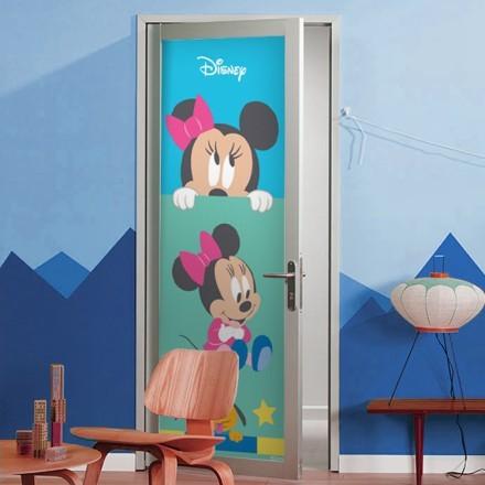 Minnie with Pluto