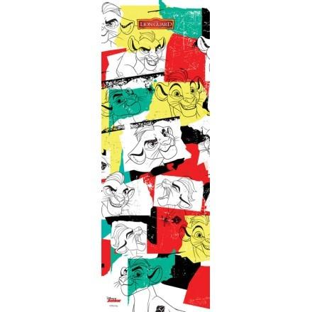 Πολύχρωμο μοτίβο με τον Kion, The Lion Guard