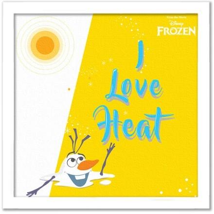 Ο Όλαφ λατρεύει τη ζέστη!