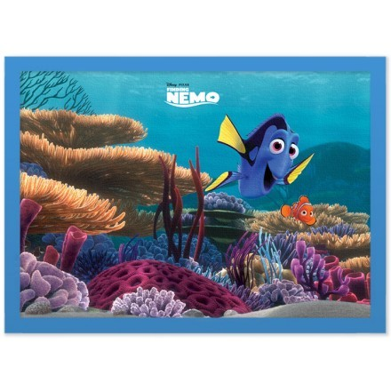 Dory and Nemo at the bottom, Finding Dory