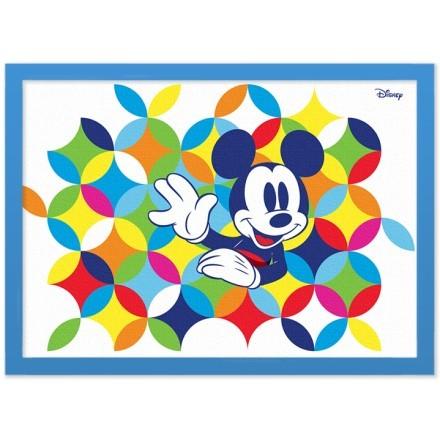 Ο Μίκυ Μάους σε ένα πολύχρωμο μοτίβο με κύκλους!