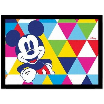 Ο Μίκυ Μάους σε πολύχρωμο μοτίβο με τρίγωνα!
