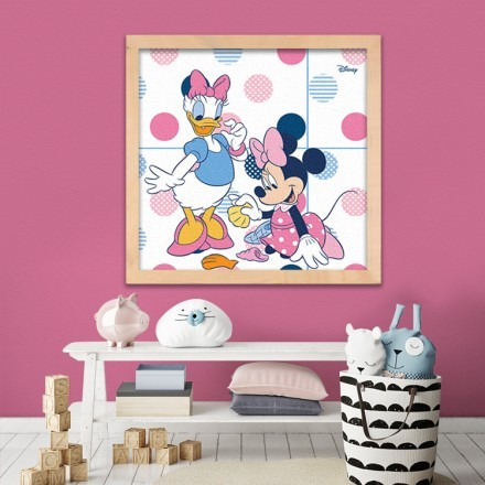 Minnie Mouse and Daisy Duck!