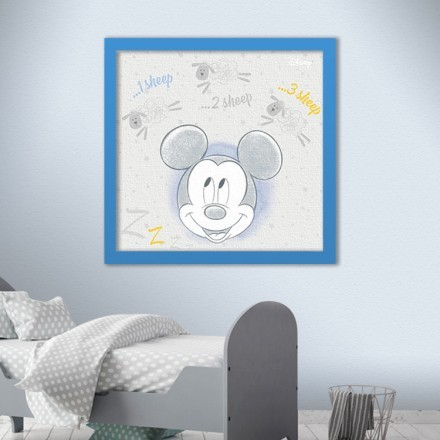 1 sheep, 2 sheep, 3 sheep, Mickey Mouse!