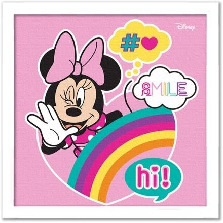 Hi, smile, Minnie Mouse!