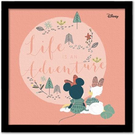 Life is an adventure, Minnie & Daisy!