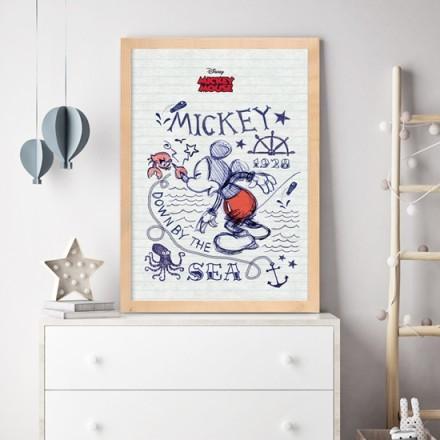 Κάτω στην θάλασσα, Mickey Mouse