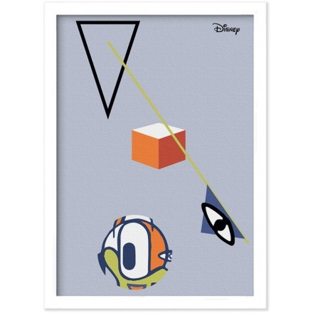 Abstract , Mickey Mouse!