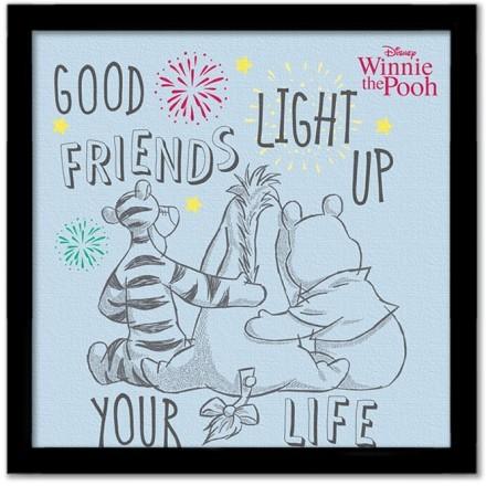 Good friends, Winnie the pooh
