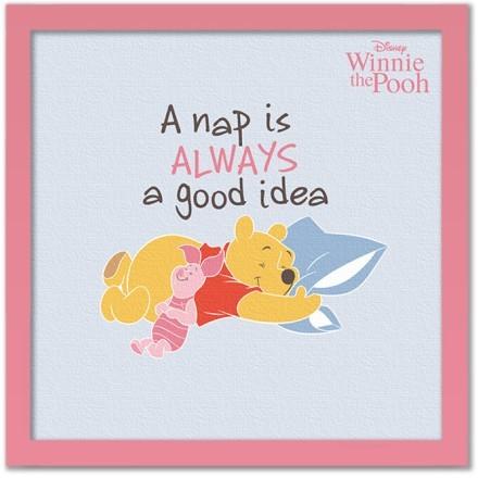 A nap is always a good idea, Winnie the Pooh