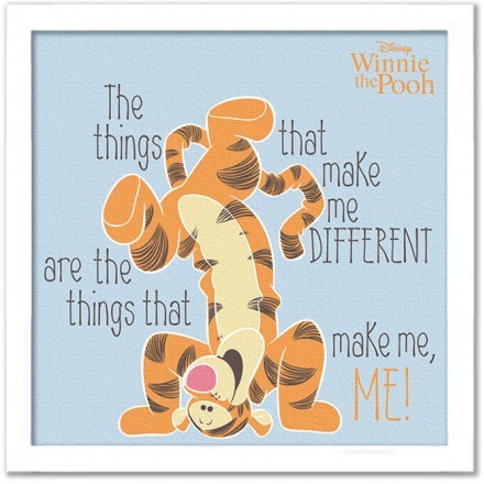 The things make the diefference, Winnie the Pooh