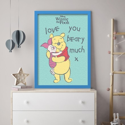 Love you beary much, Winnie the Pooh