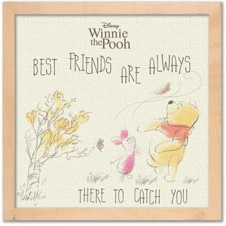 Best friends are there to catch you!