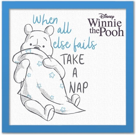 Take a nap, Winnie the Pooh!