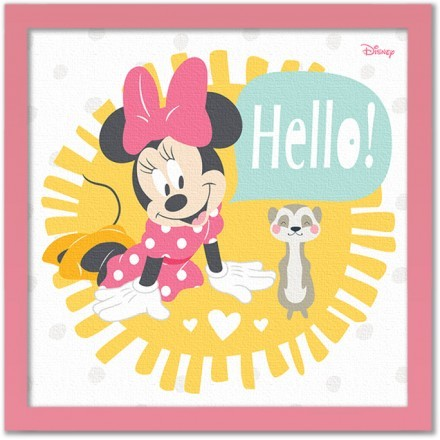 Hello little one, Minnie Mouse!