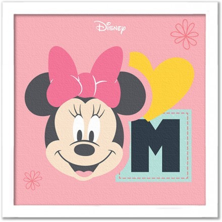 M for Minnie Mouse!